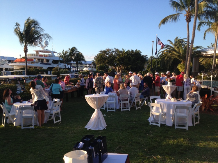Hinckley Yachts owner rendezvous at Ocean Reef Club.  What a fabulous weekend, great weather, great food, and great owners.  16 boats of fun in the island sun!